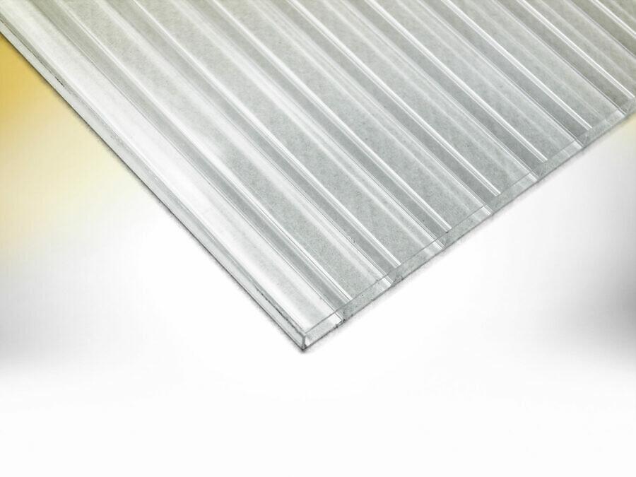 LEO Carport - Transparentdach Doppelstegplatten