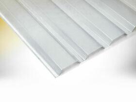 LEO Carport - Trapez-Lichtplatten