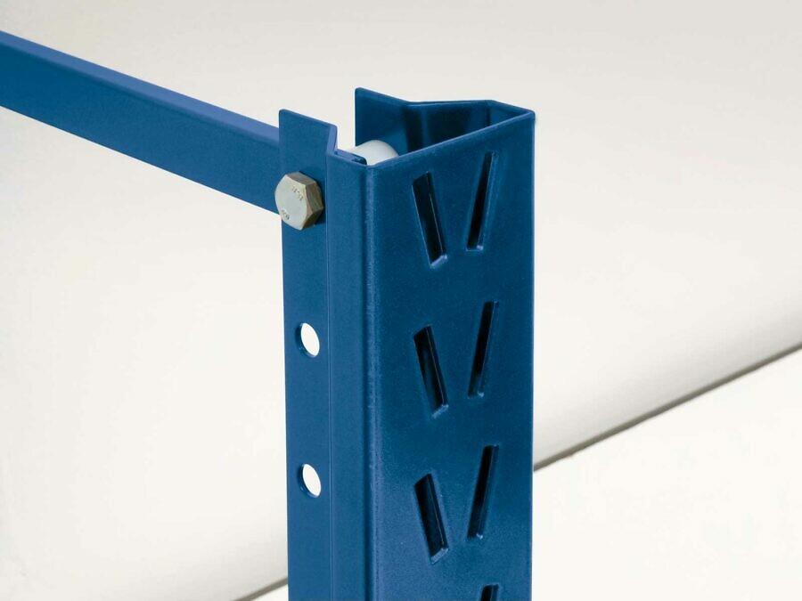 Das von Brass entwickelte Profilsystem bietet höchste Stabilität und ein flexibles 40 mm-Steckraster