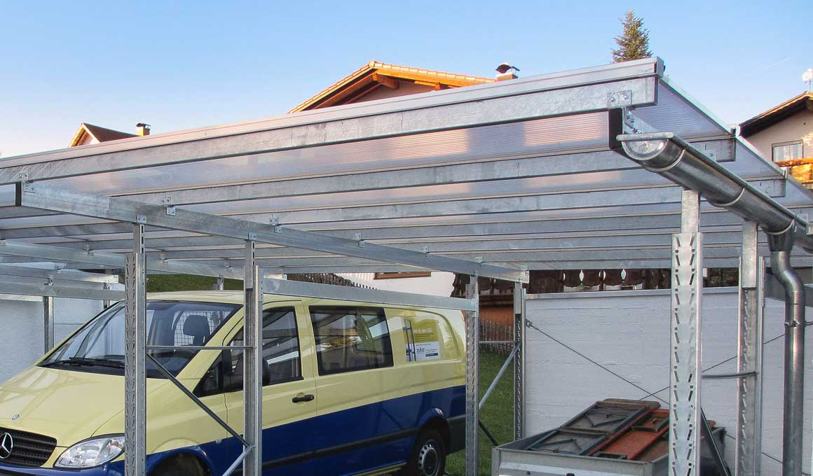 Super LEO Carport – Systeminfo | LEO Shop JM21
