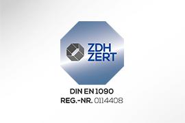 BRASS Zertifikat DIN-EN 1090